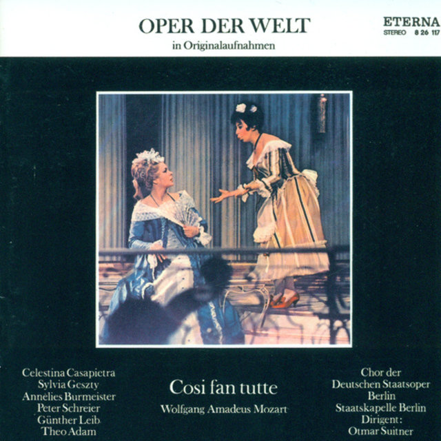 Wolfgang Amadeus Mozart: Cosi fan tutte (Highlights) [Suitner]