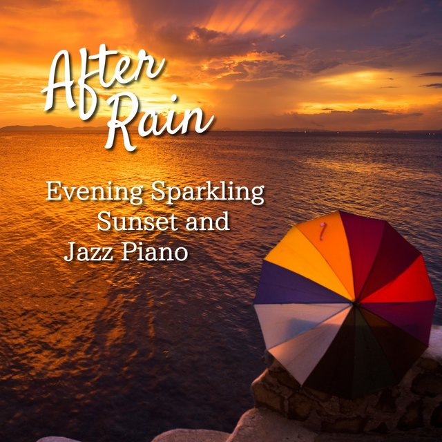 Evening Sparkling Sunset and Jazz Piano