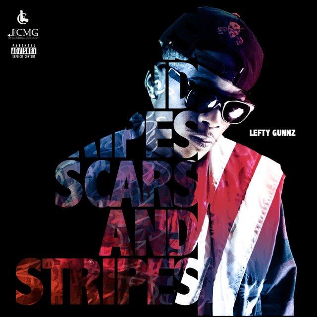 Cover art for album Scars & Stripes by Lefty Gunnz