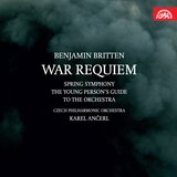 War Requiem for Soprano, Tenor and Baritone Soli, Chorus, Orchestra, Chamber Orchestra, Boys´ Choir and Organ to the Liturgical Text of the Requiem Mass and Wilfred Owen´s Poetry, Op. 66, .: Requiem aeternam