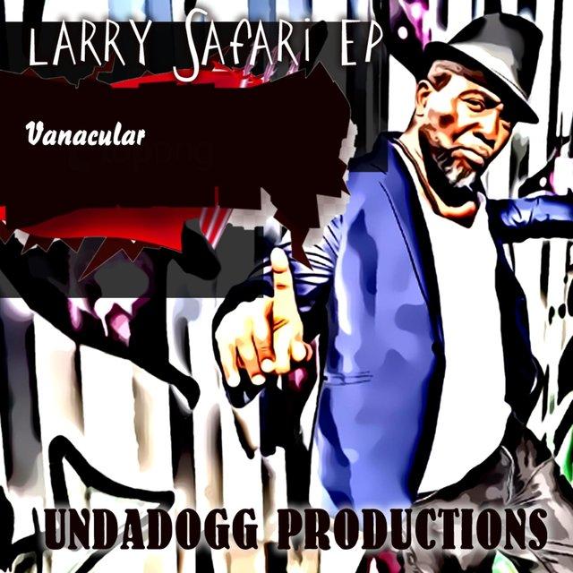 Cover art for album Vanacular by Larry Safari