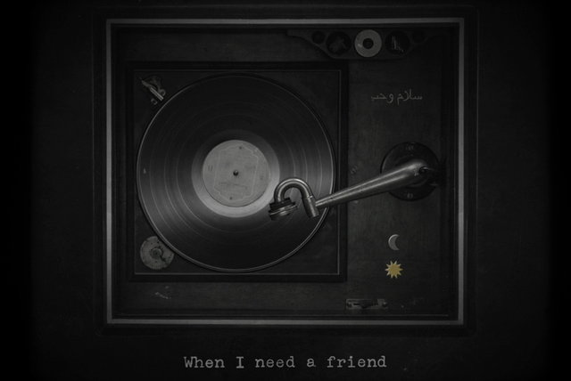 When I Need A Friend (Lyric Video)