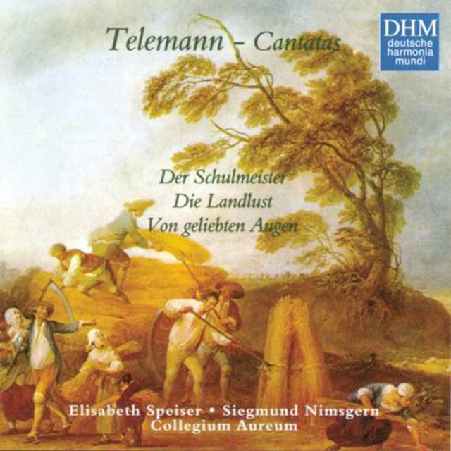 40 Years DHM - Telemann: Three Secular Cantatas