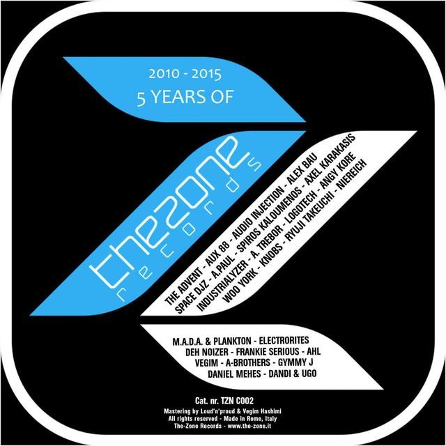 5 Years Of The-Zone Records