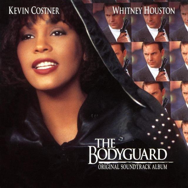 Cover art for album  by Whitney Houston