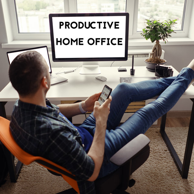 Productive Home Office - Best New Age Music That Helps You Concentrate Deeply and Achieve Better Results, Mind Activity, Improve Memory, Explosion of Thoughts, Get Motivation