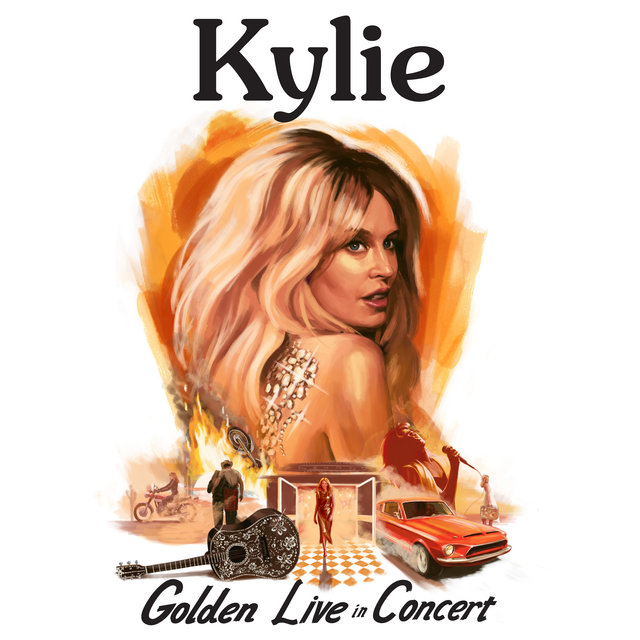 Cover art for album Golden: Live in Concert by Kylie Minogue