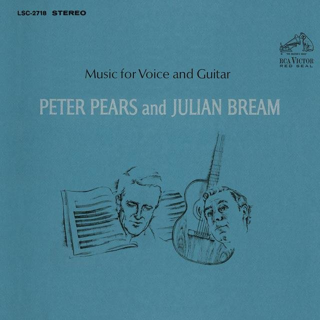 Peter Pears & Julian Bream - Music for Voice and Guitar