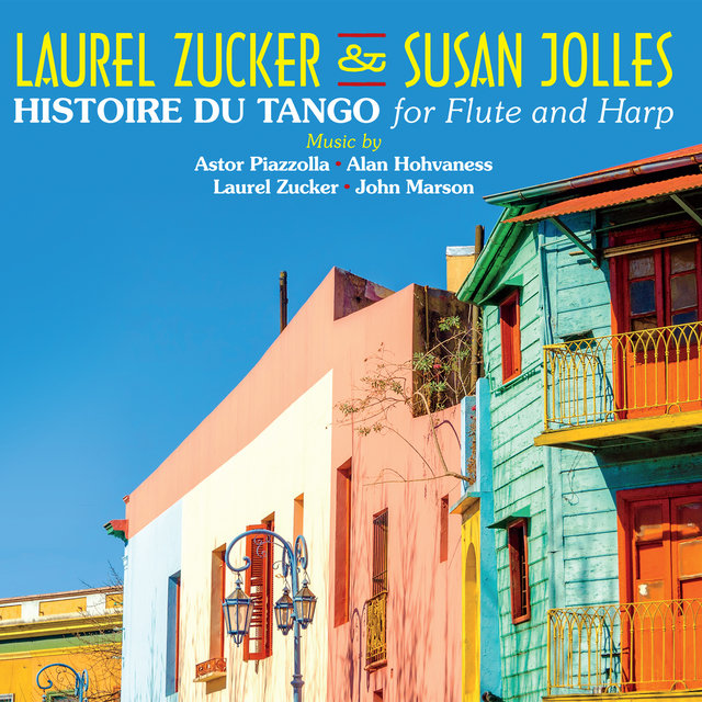Histoire Du Tango for Flute and Harp