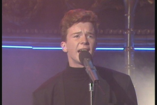 Never Gonna Give You Up (The Roxy 1987)