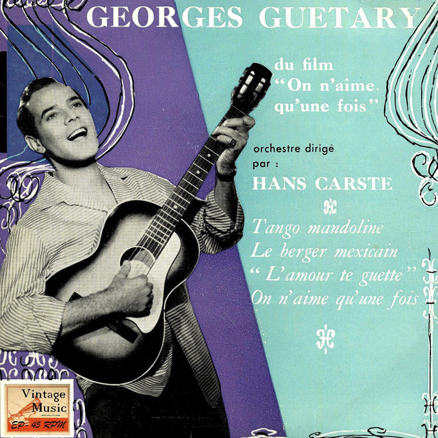 "Vintage French Song Nº 90 - EPs Collectors, ""On N'aime Qu'une Fois"""