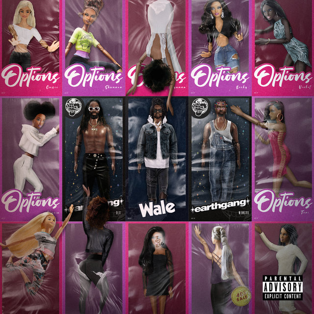 Cover art for album Options by EARTHGANG, Wale