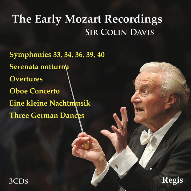 The Early Mozart Recordings - Sir Colin Davis