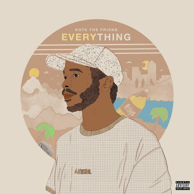 Cover art for album EVERYTHING by Kota the Friend