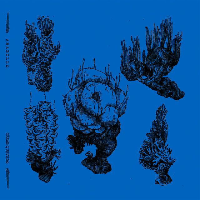 Cover art for album Amarillo by César Quevedo