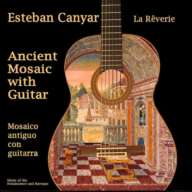 Ancient Mosaic with Guitar (Digital Only)