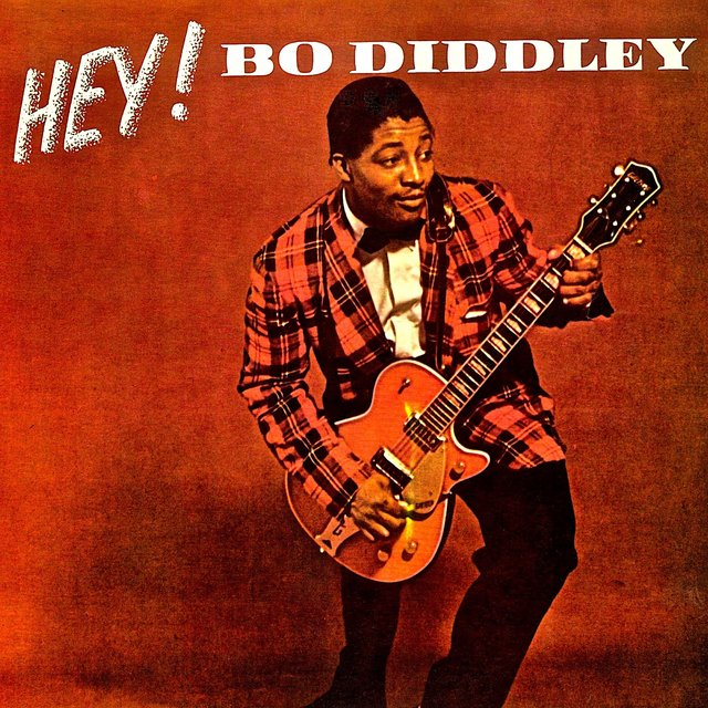 HEY! Bo Diddley! His Fabulous 1950s Hit Singles!