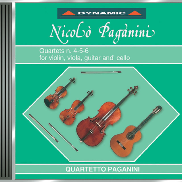 Paganini: 15 Quartets for Strings and Guitar (The), Vol. 4