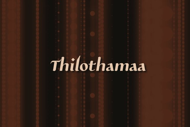 Thilothama (Lyric Video)