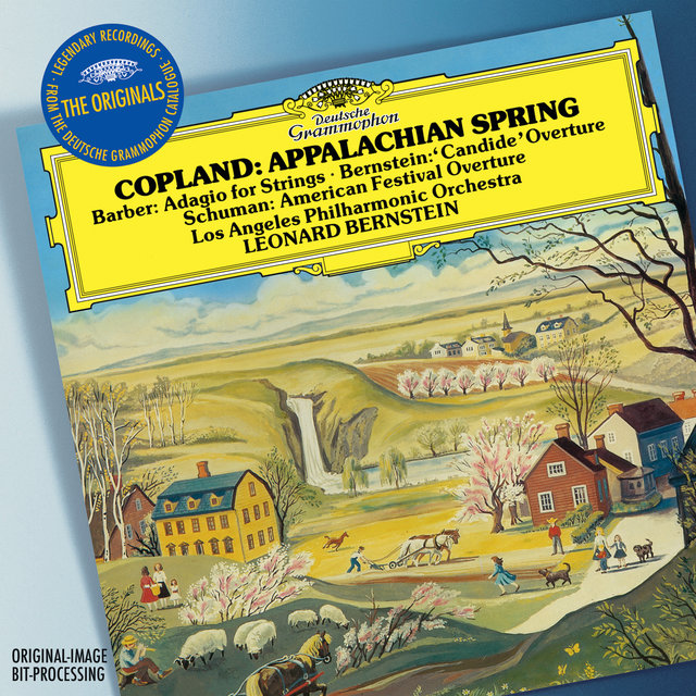 Copland: Appalachian Spring / W. H. Schuman: American Festival Overture / Barber: Adagio For Strings, Op.11 / Bernstein: Overture Candide (Live)