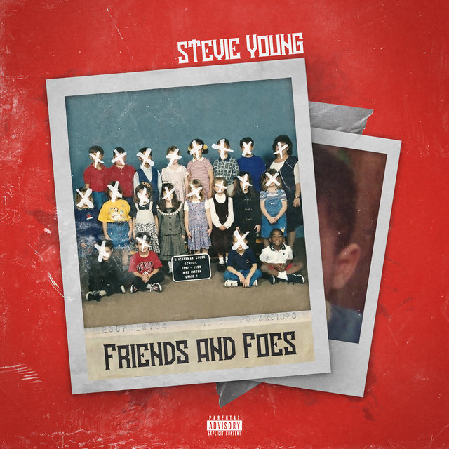 Cover art for album Friends and Foes by Stevie Young