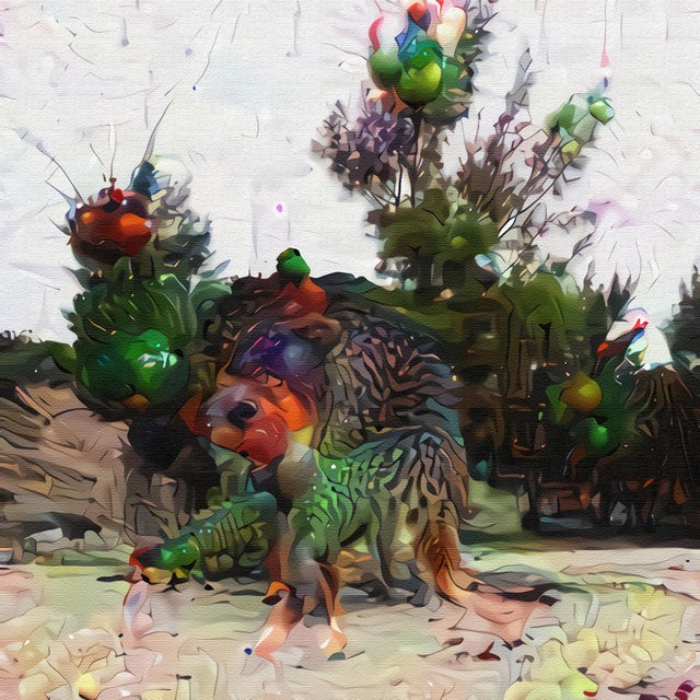 Neo Chiptune Deep Dream