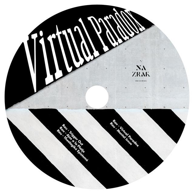 Cover art for album Virtual Paradox by RAU