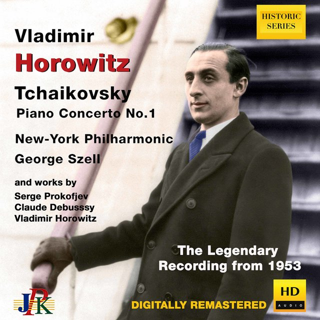 Vladimir Horowitz plays Tchaikovsky Piano Concerto No.1; works by Prokofieff, Debussy & Horowitz