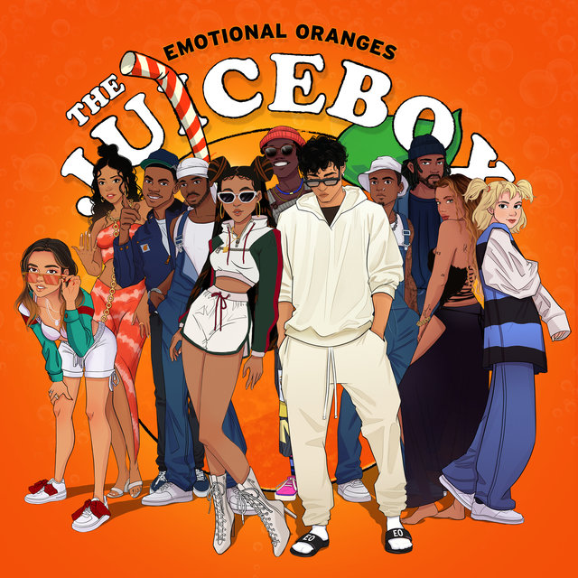 Cover art for album The Juicebox by Emotional Oranges