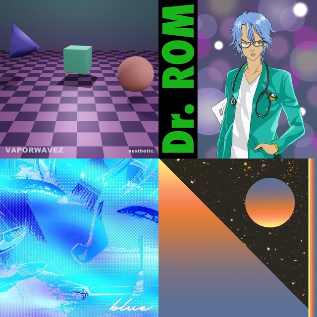 Cover art for album Vaporwave by DJ Cuttlefish by User
