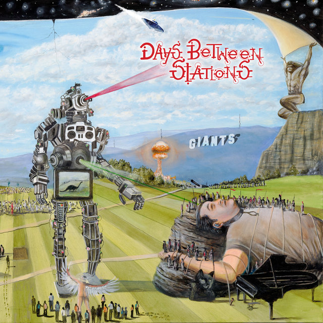 Cover art for album Giants by Days Between Stations