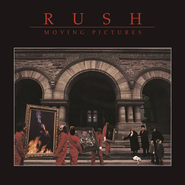 Cover art for album  by Rush