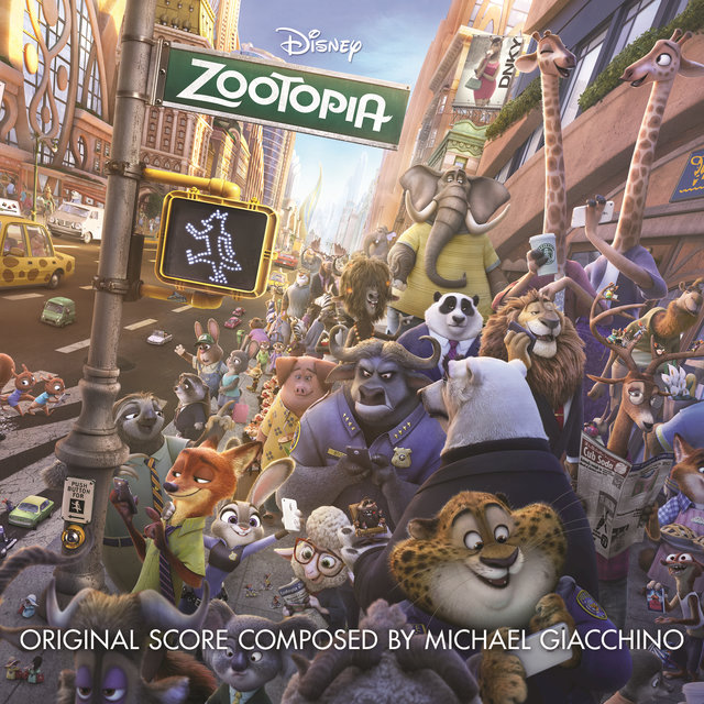 Cover art for album Zootopia (Original Motion Picture Soundtrack) by Michael Giacchino