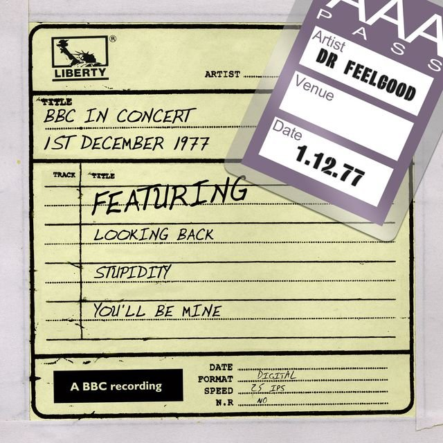 Dr Feelgood - BBC In Concert (1st December 1977)