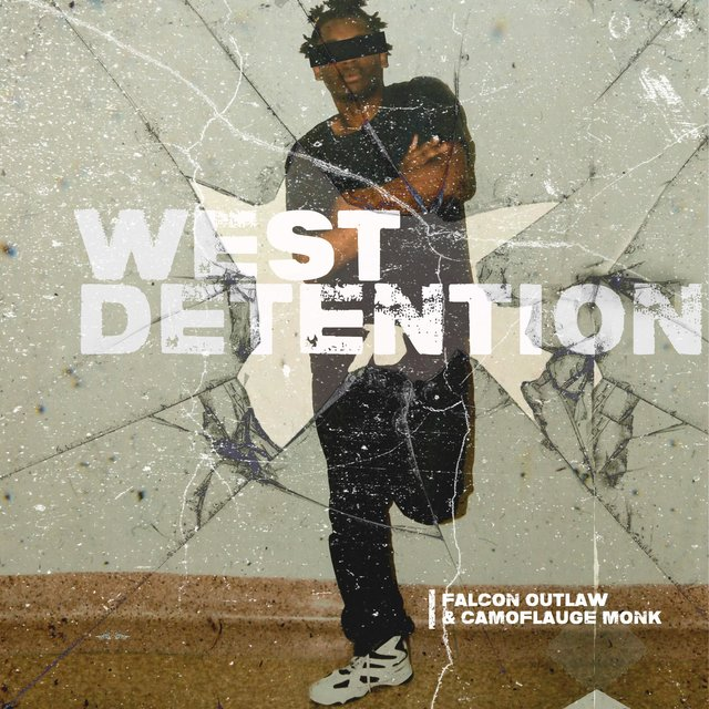 Cover art for album West Detention by Falcon Outlaw, Camoflauge Monk