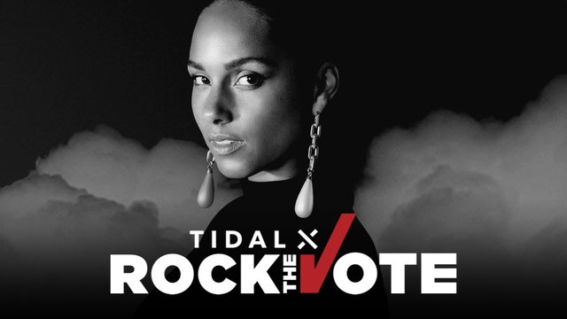 Cover art for album  by Alicia Keys, TIDAL X Rock The Vote