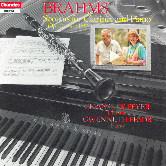 Brahms: Clarinet Sonatas Nos. 1 and 2