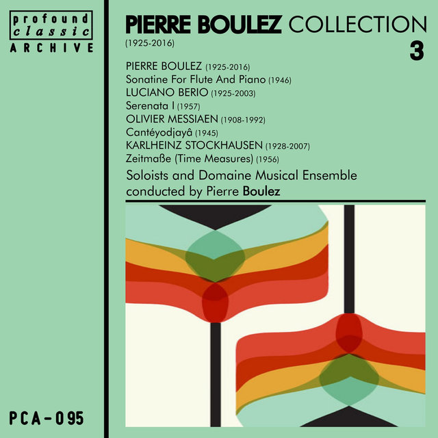 Pierre Boulez Collection, Vol. 3