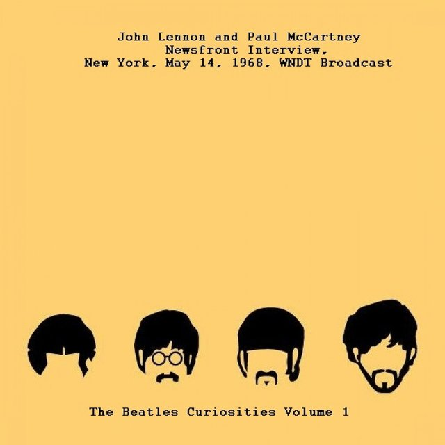 Newsfront Interview, New York, May 14th 1968 WNDT Broadcast - The Beatles Curiosities Volume 1
