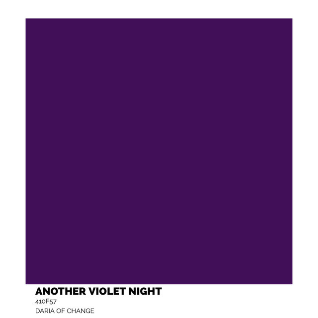 another violet night