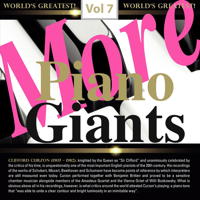 More Piano Giants, Vol. 7