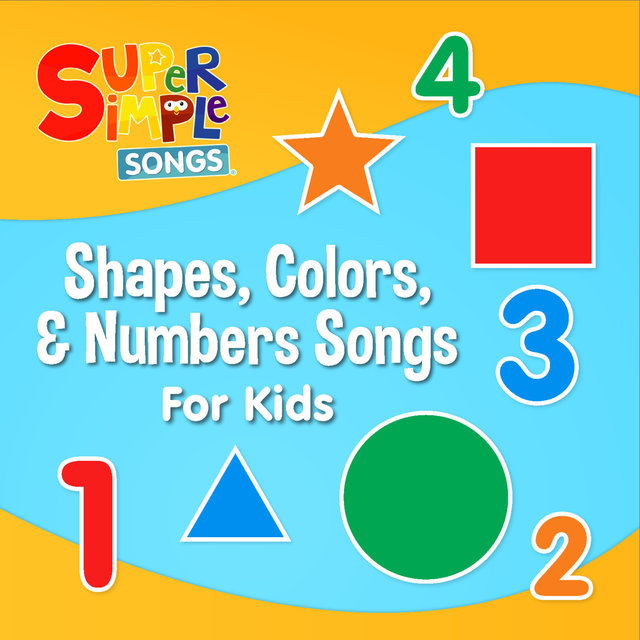 Shapes, Colours & Numbers Songs