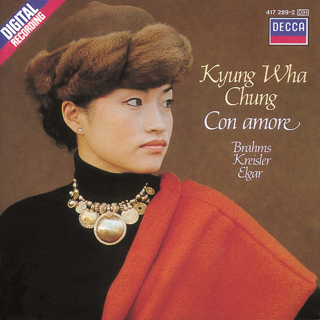 Cover art for album  by Kyung Wha Chung, Phillip Moll