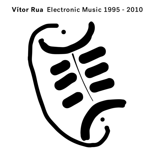 Cover art for album Electronic Music 1995-2010 by Vítor Rua