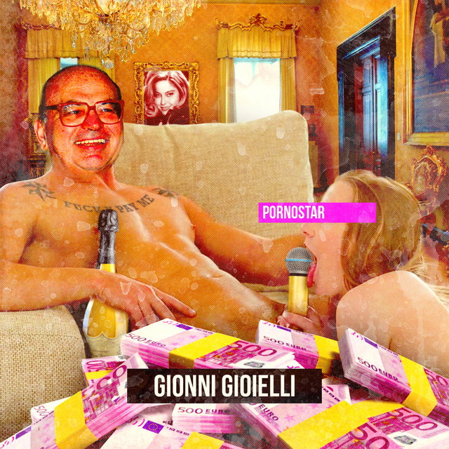 Cover art for album Pornostar by Gionni Gioielli