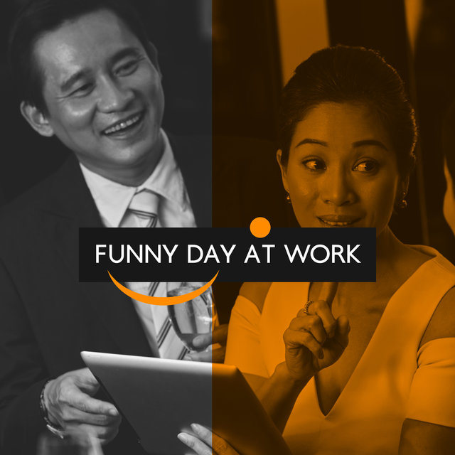 Funny Day at Work – Positive Mood and Jazz Music, Office Cafe, Lunch Break, Coffee Time