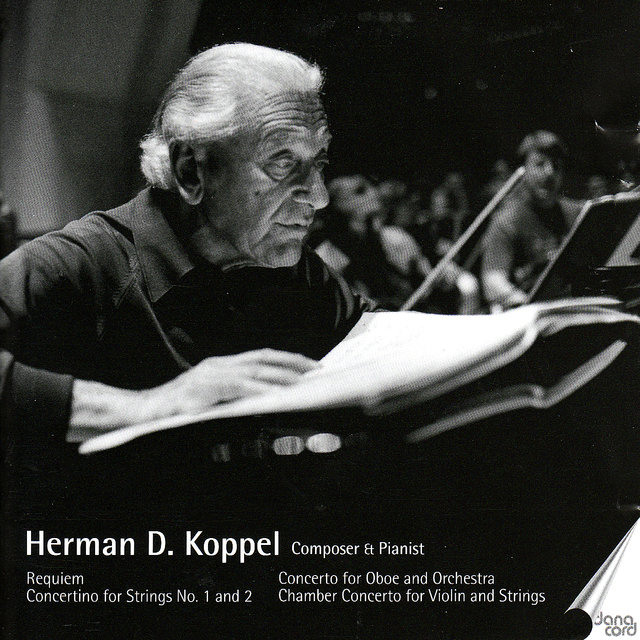 Herman D. Koppel. Composer and Pianist Vol 6