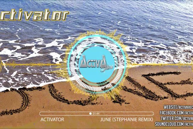Activator - June (Stephanie Remix) - Official Preview (Activa Shine)