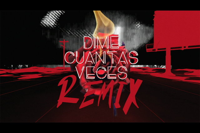 Dime Cuantas Veces (Remix) [feat. Justin Quiles] [Lyric Video]