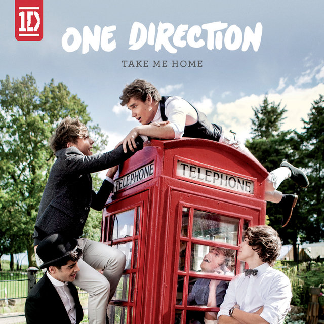 Cover art for album Take Me Home by One Direction